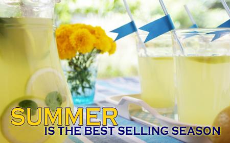 Summer  White-Hot for Real Estate